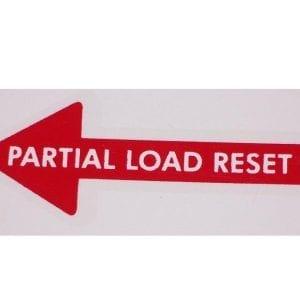 """""""Partial Load Reset"""" Arrow for Vendo V-83"""