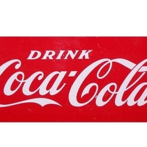 Drink Coca Cola Decal for Large Progress Cooler