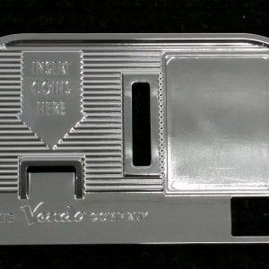 Vendo V-44 Chromed Faceplate-Coin Entry Bezel