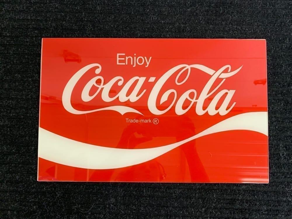 Vendo V-63 & V-90 Enjoy Coca Cola Lite Up Panel
